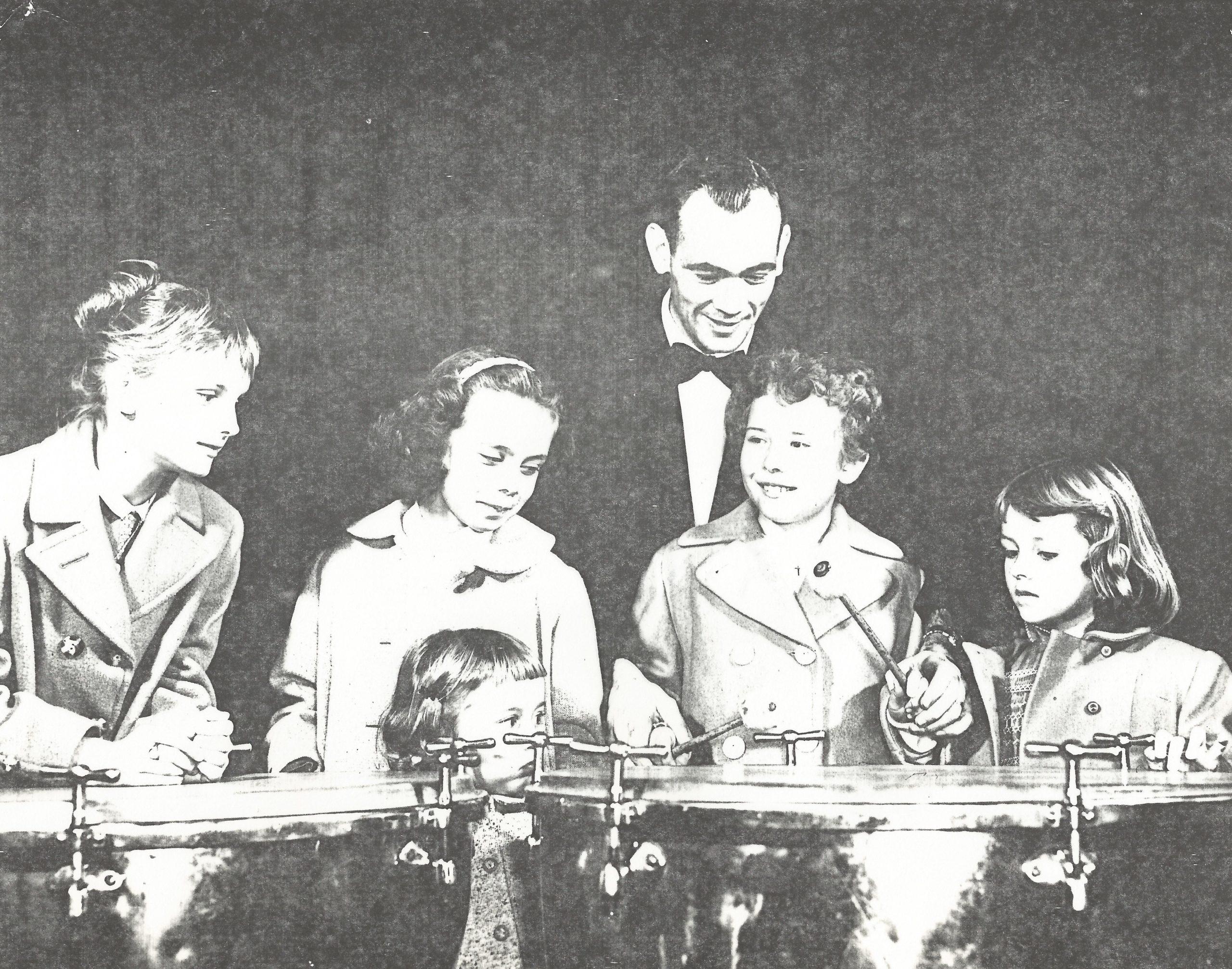 5 children percussion